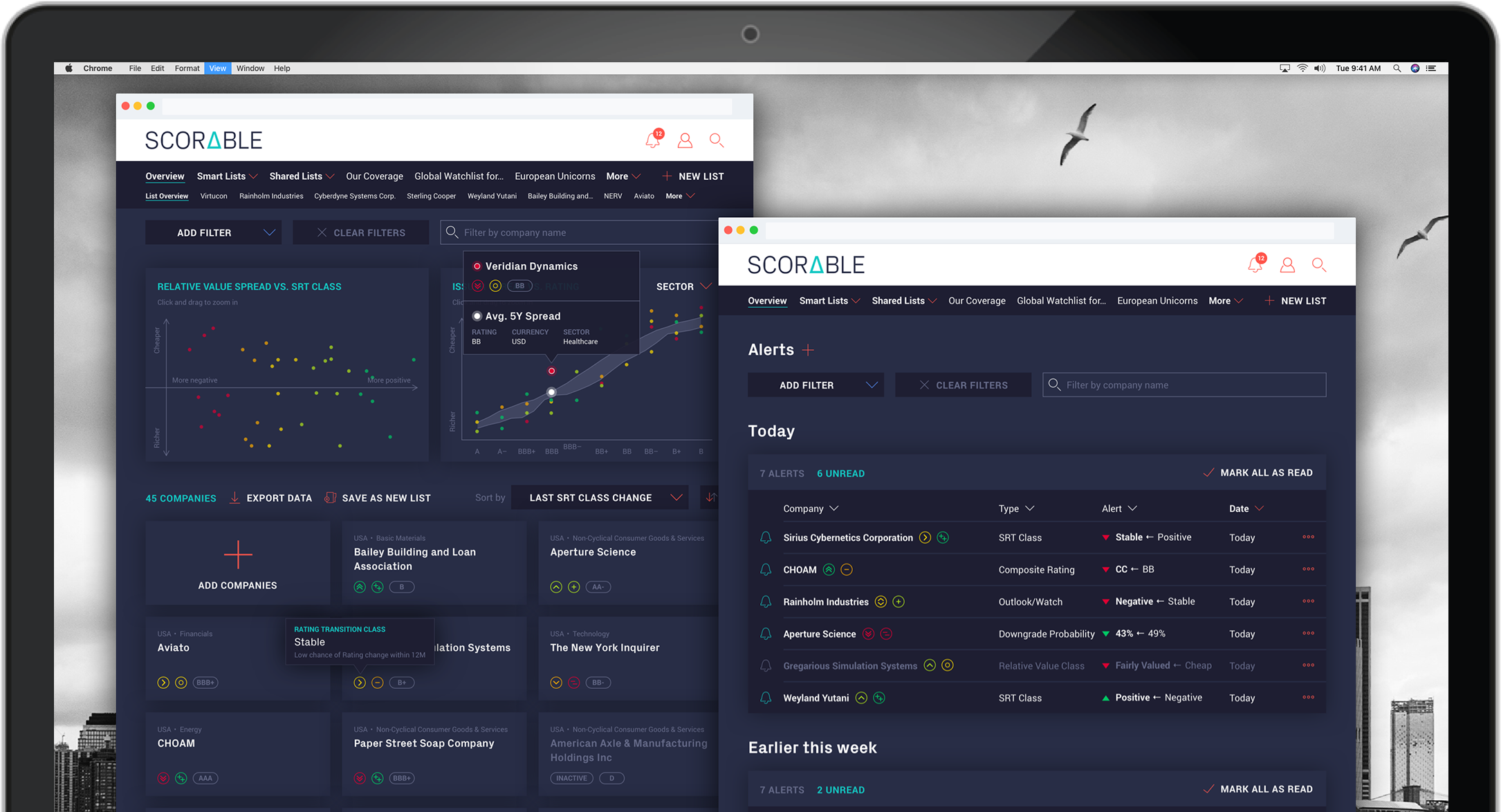 Scorable - product screenshot
